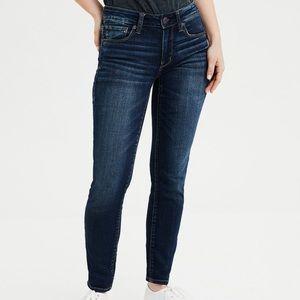 American Eagle Ne(x)t Level Stretch Skinny Jeans Size 0 Short